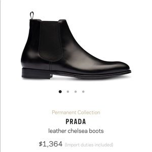 ❗️Authentic PRADA Boots❗️